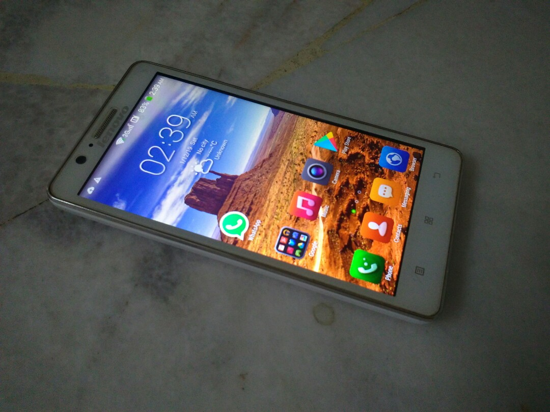 Lenovo A536 8gb Rom 5inch Screen Gps Dual Sim Mobile Phones Tablets Android Others On Carousell