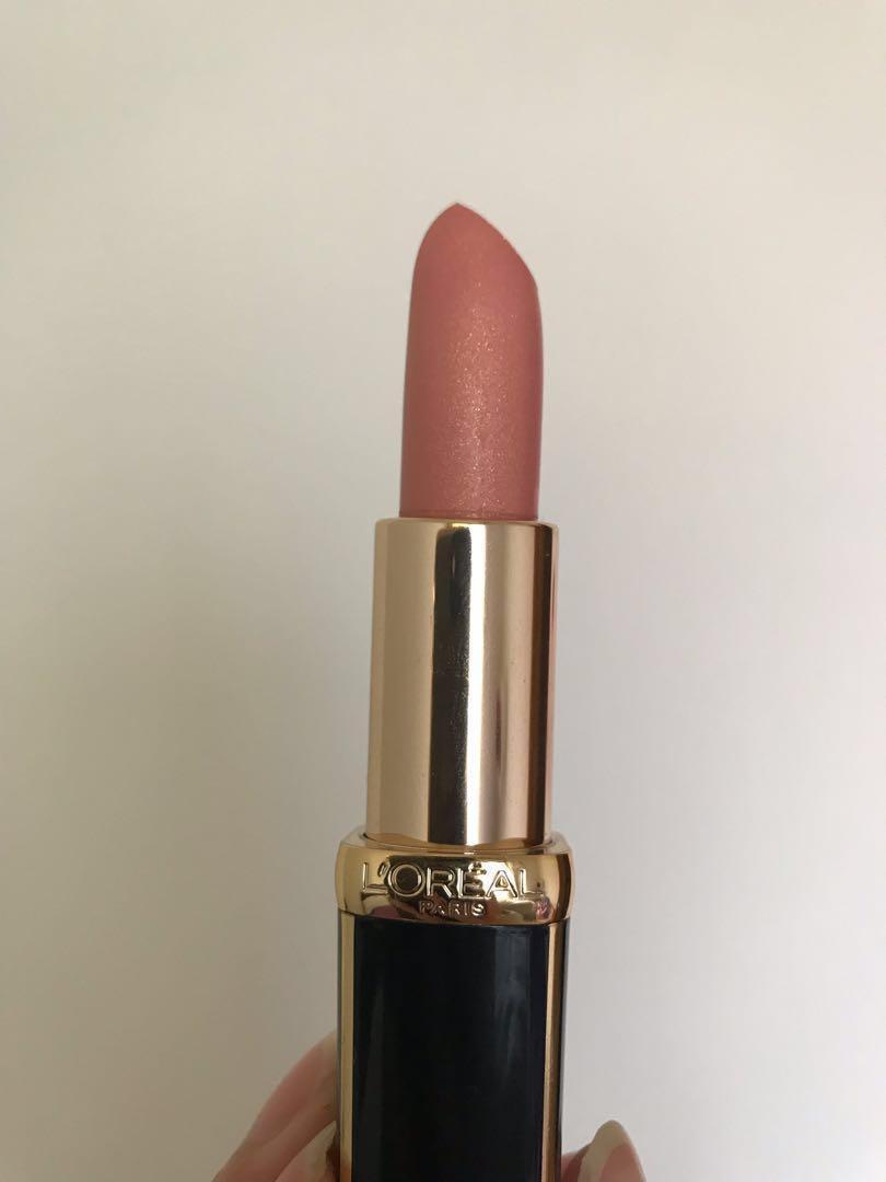 L'Oréal x BALMAIN 霧面唇膏 #玫瑰金