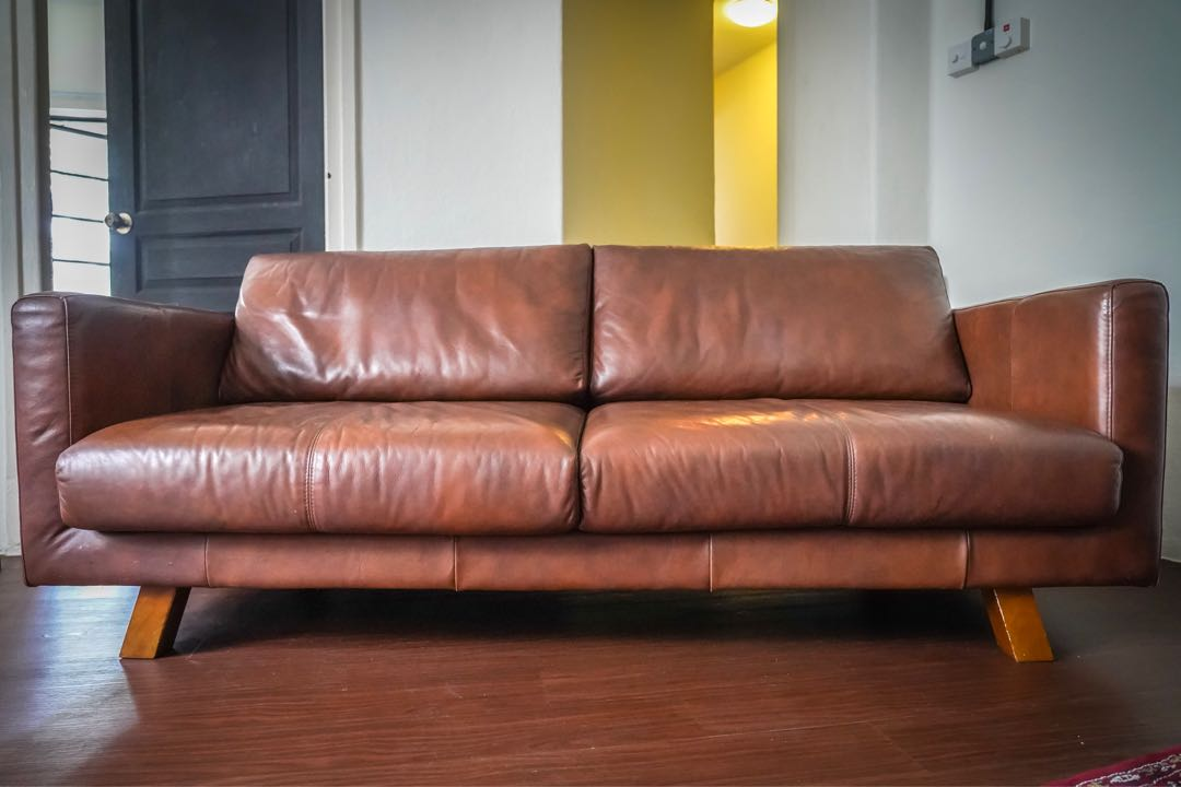 Super Low Profile Brown Leather Sofa Theyellowbook Wood Chair Design Ideas Theyellowbookinfo