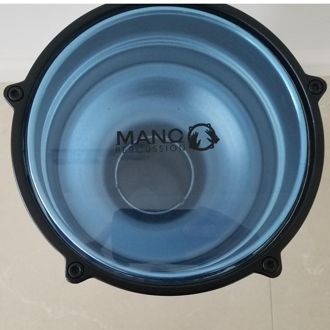 Mano Percussion Darbuka - Aluminium Body w/ Blue Drum Head