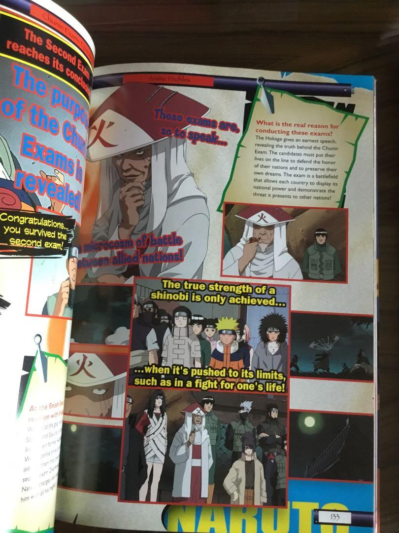 "Naruto anime profiles, posters, ""Konoha ninja special collector's edition (in chinese)"