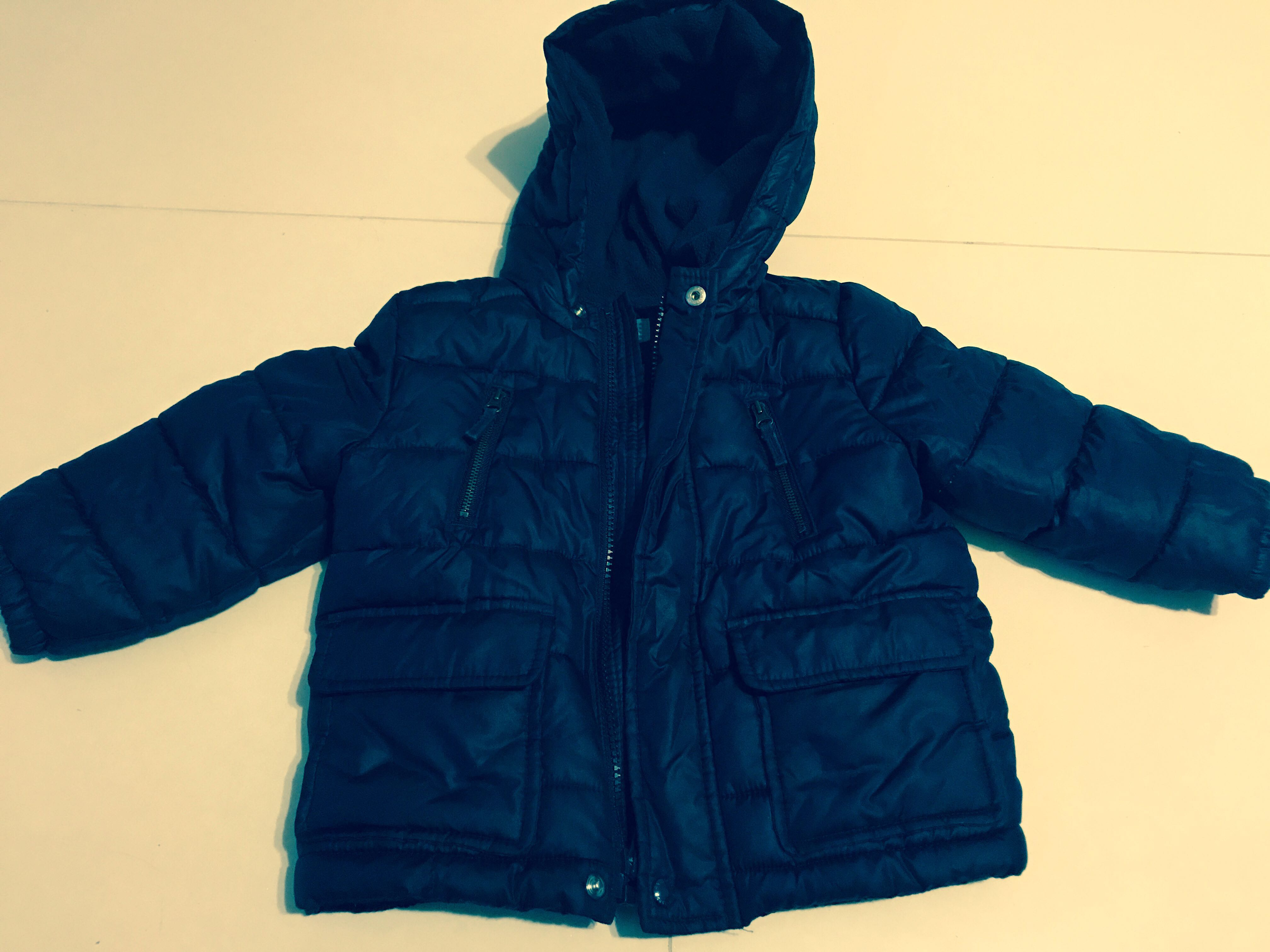 deb7497d3 Navy blue 18 - 24 month winter jacket