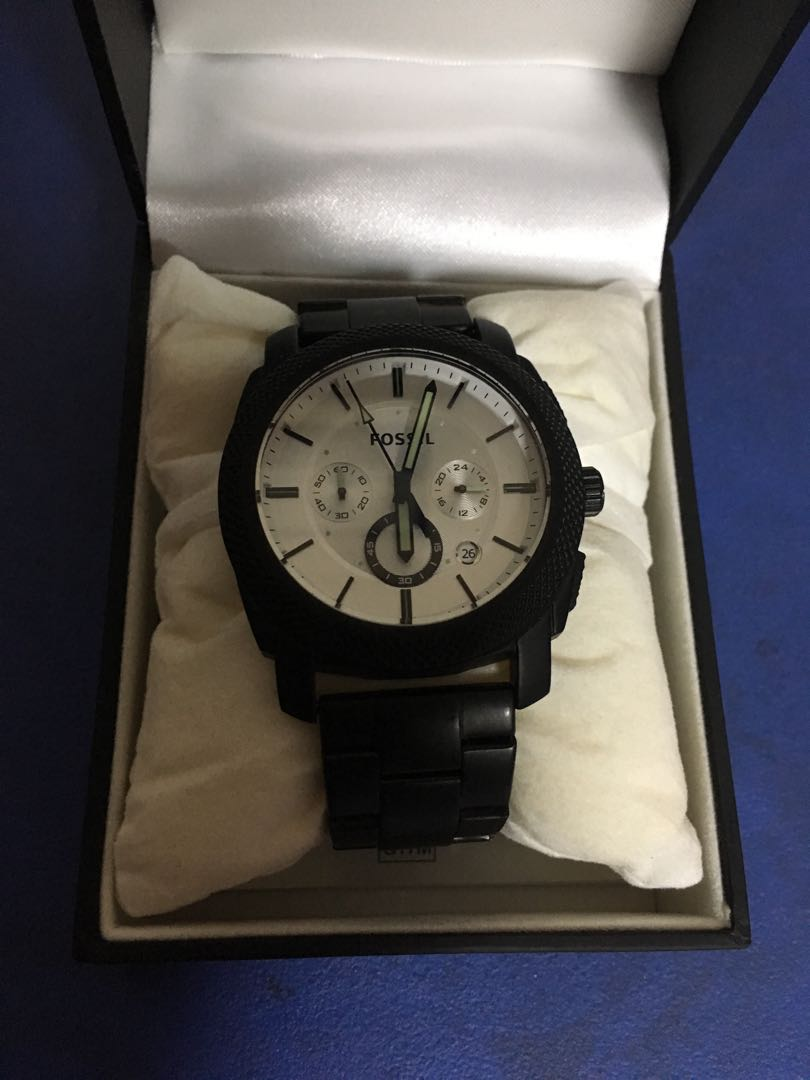 e29d9f24d86 New Men s fossil watch - White coloured dial