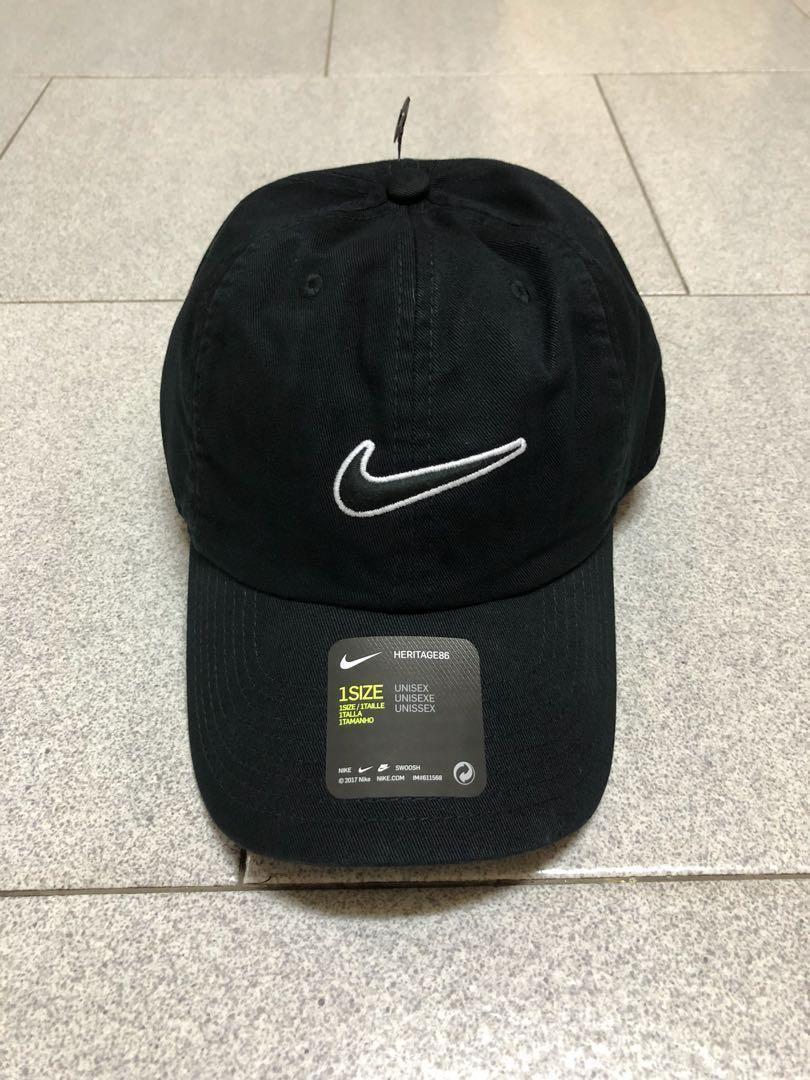 71c2052db Nike Swoosh Cap (Black), Men's Fashion, Accessories, Caps & Hats on ...