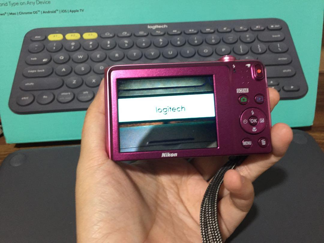 Nikon Coolpix S3600 Pink