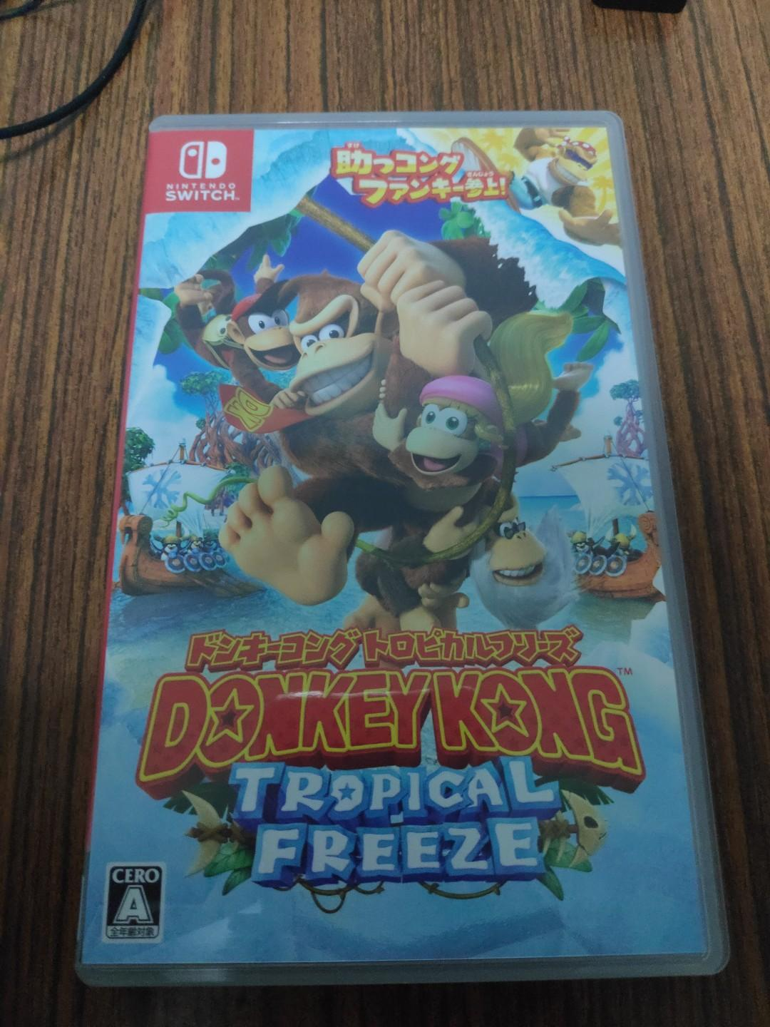 Nintendo switch Donkey Kong Country: Tropical Freeze, Toys