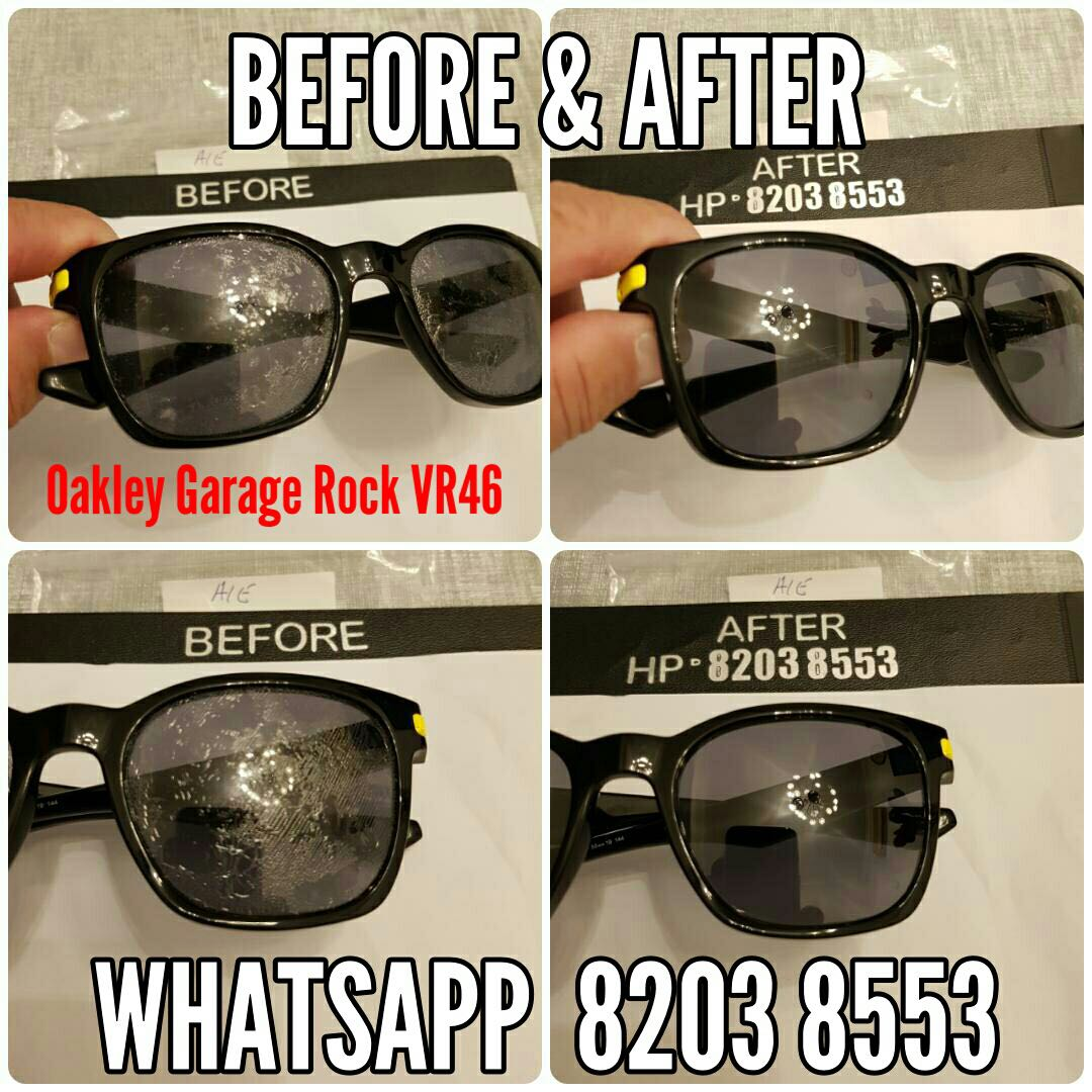 f3580354fe88f Oakley repair service Restoration for all branded sunglasses like ...