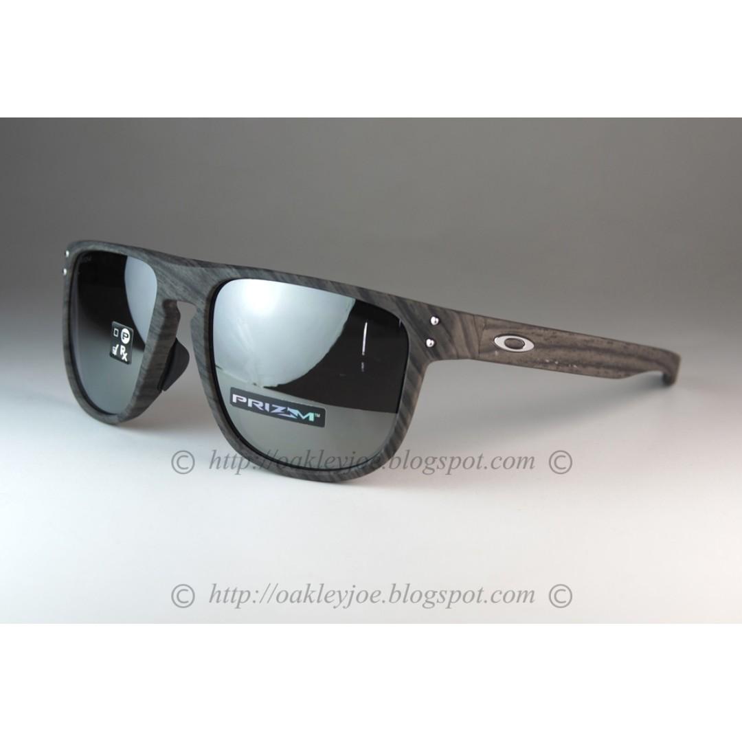 a72ffd677905 Oakley Round Holbrook Asian Fit woodgrain + prizm black iridium ...