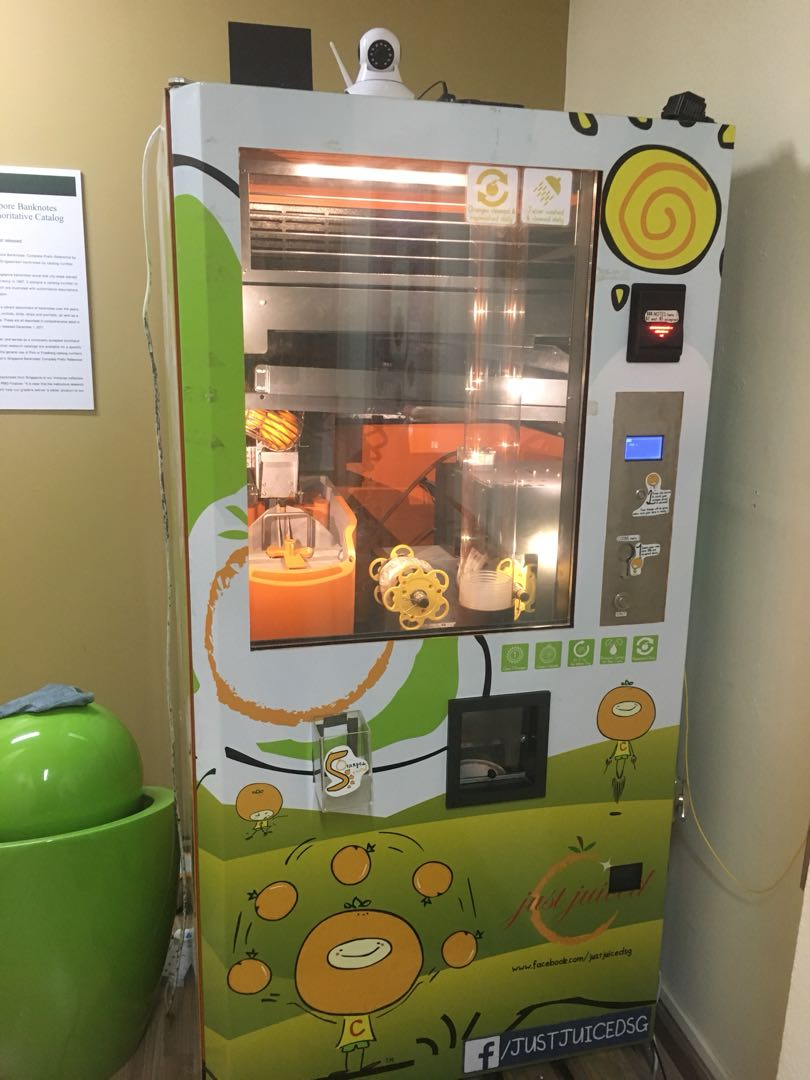 Orange Juice Vending Machine Everything Else On Carousell