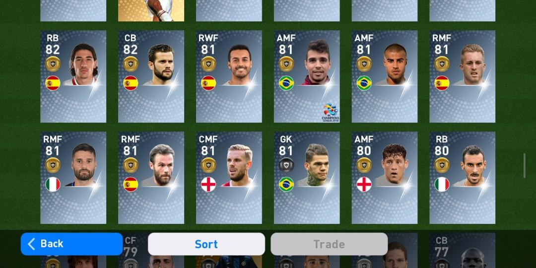 Pes 2019 Mobile Team, Toys & Games, Video Gaming, Video