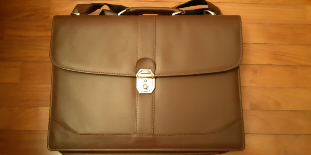 b14e9ea4c Professional Leather Briefcase for Men, Luxury, Bags & Wallets ...