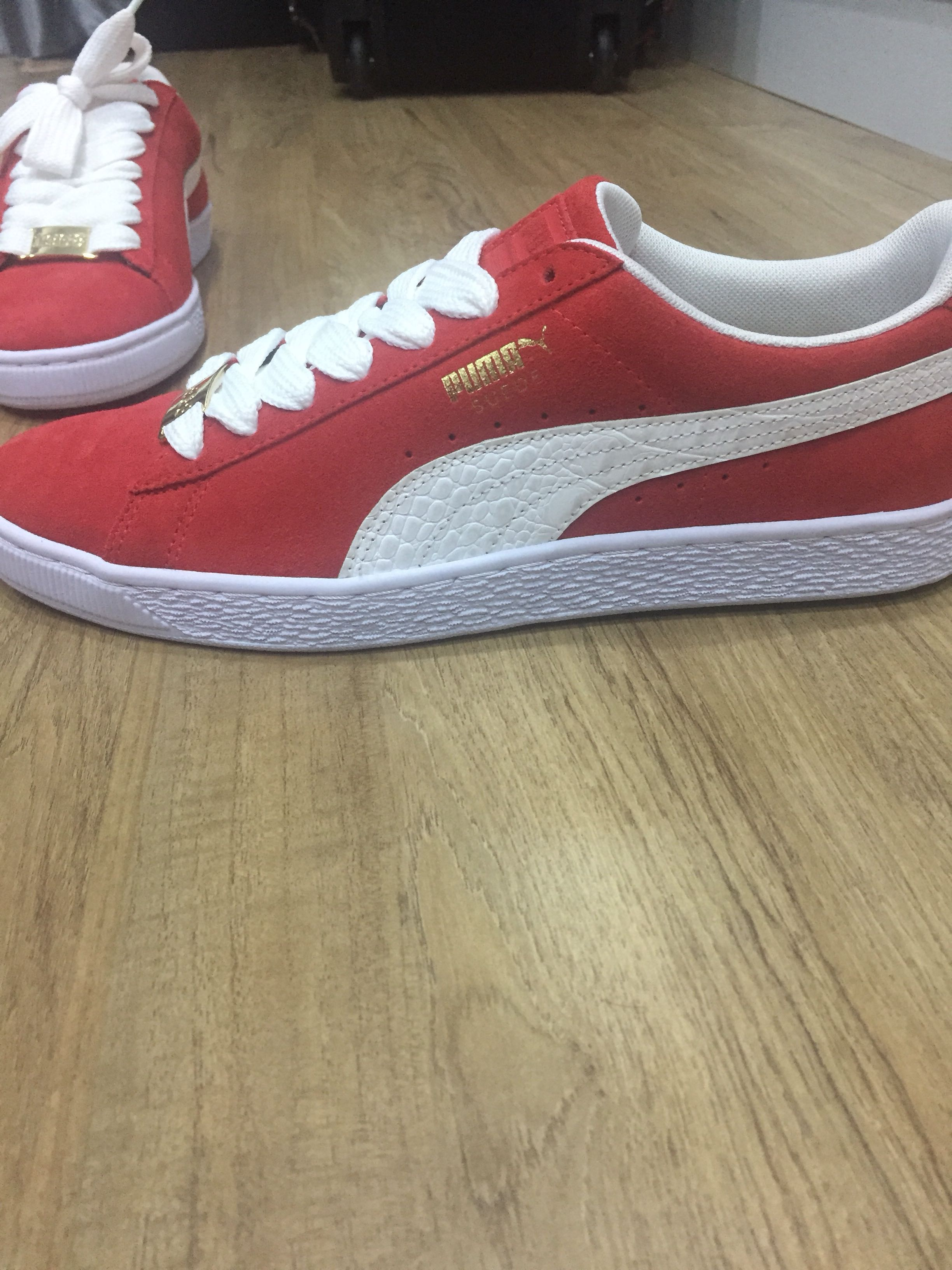 newest d1b80 d454d Puma Suede Classic Bboy Fabulous Red