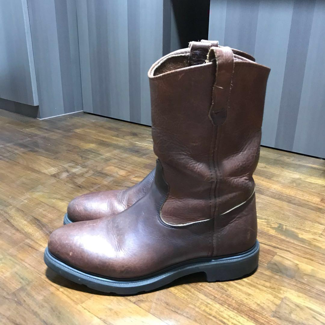 """667429dac80 RED WING Boots Super Sole 11"""" Pull-on (Steel Toe)(UK9/US10), Men's ..."""