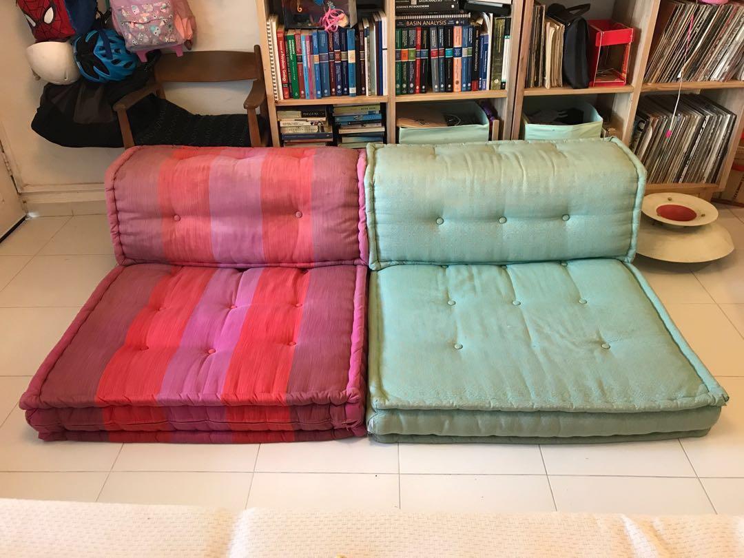 Roche Bobois Mah Jong Designer Modular Sofa Kenzo Furniture Sofas