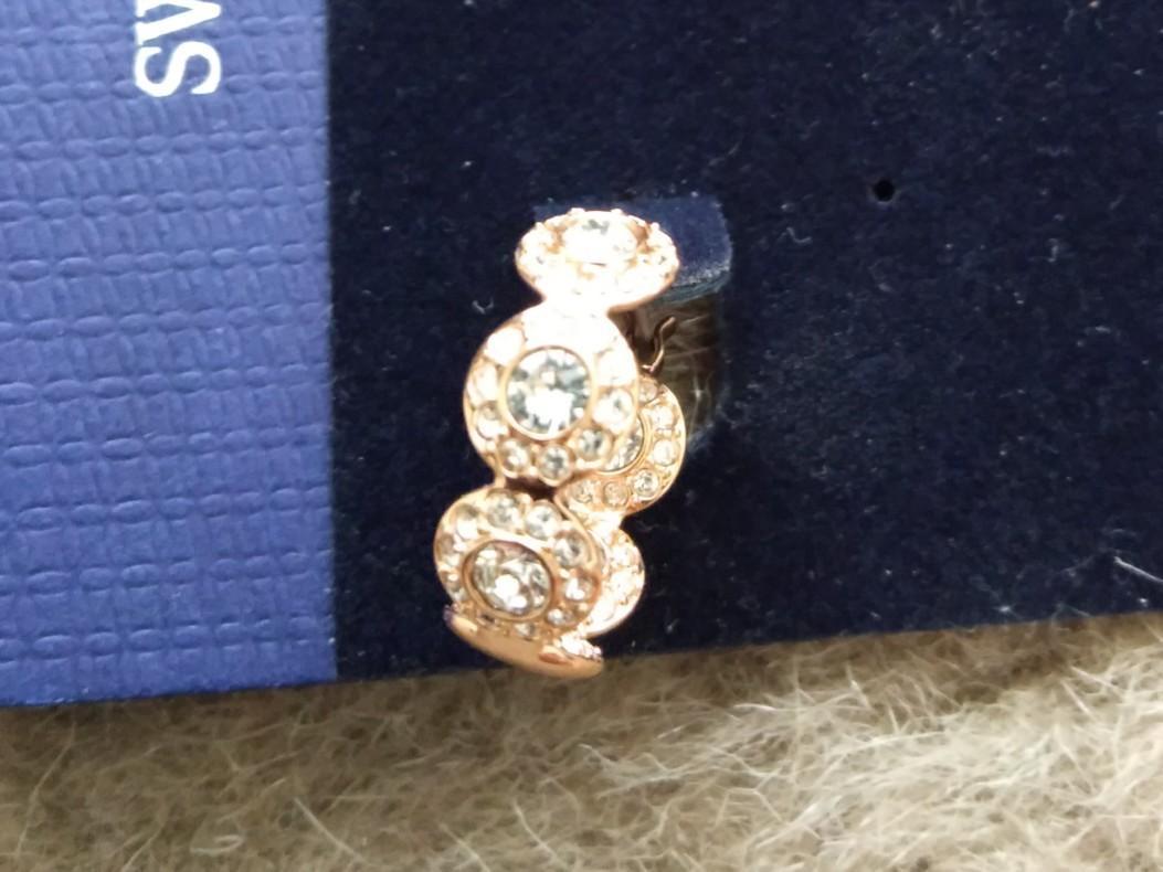 Swarovski BRAND NEW Angelic Range Rose Gold Bracelet and Earrings