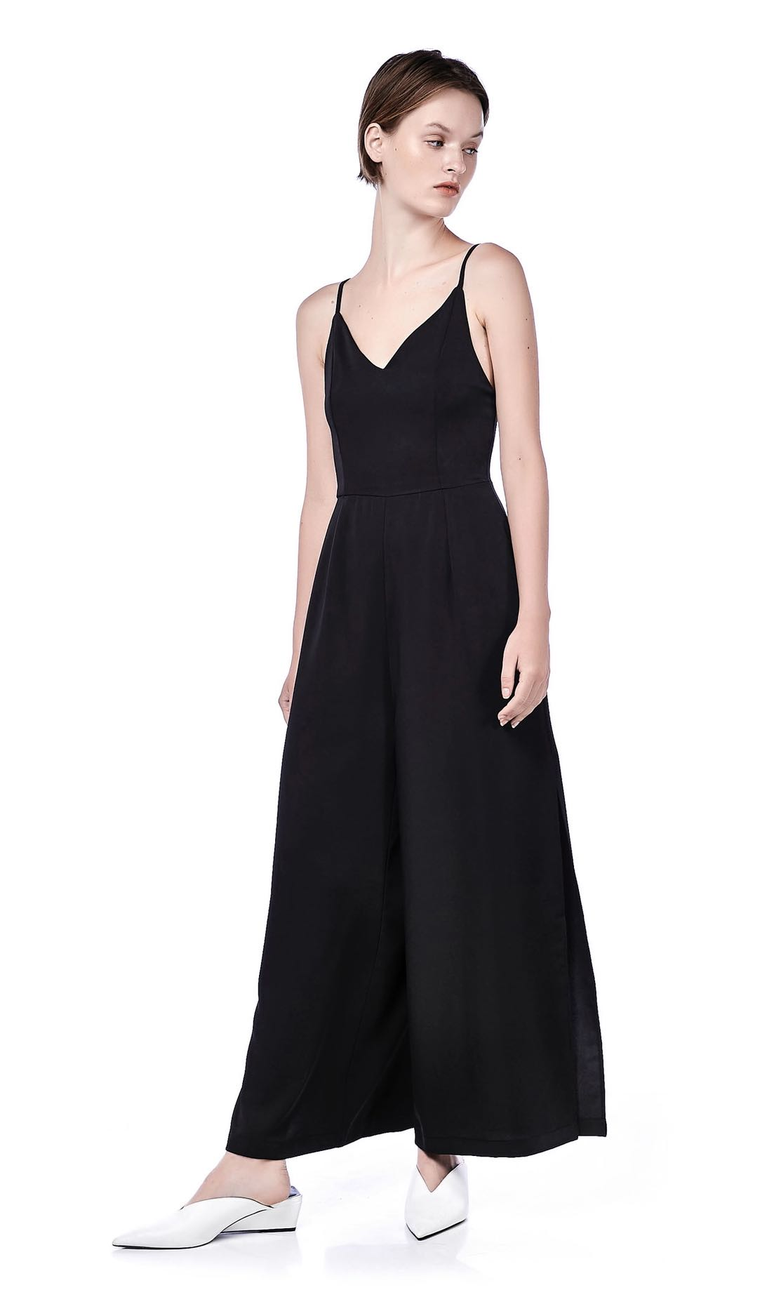 ec298bec6f5 The Editor s Market Rumi Jumpsuit in Black