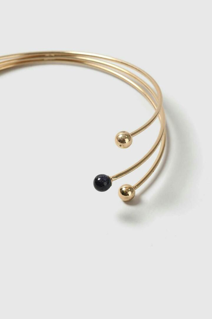 Topshop Open Ball Choker Necklace