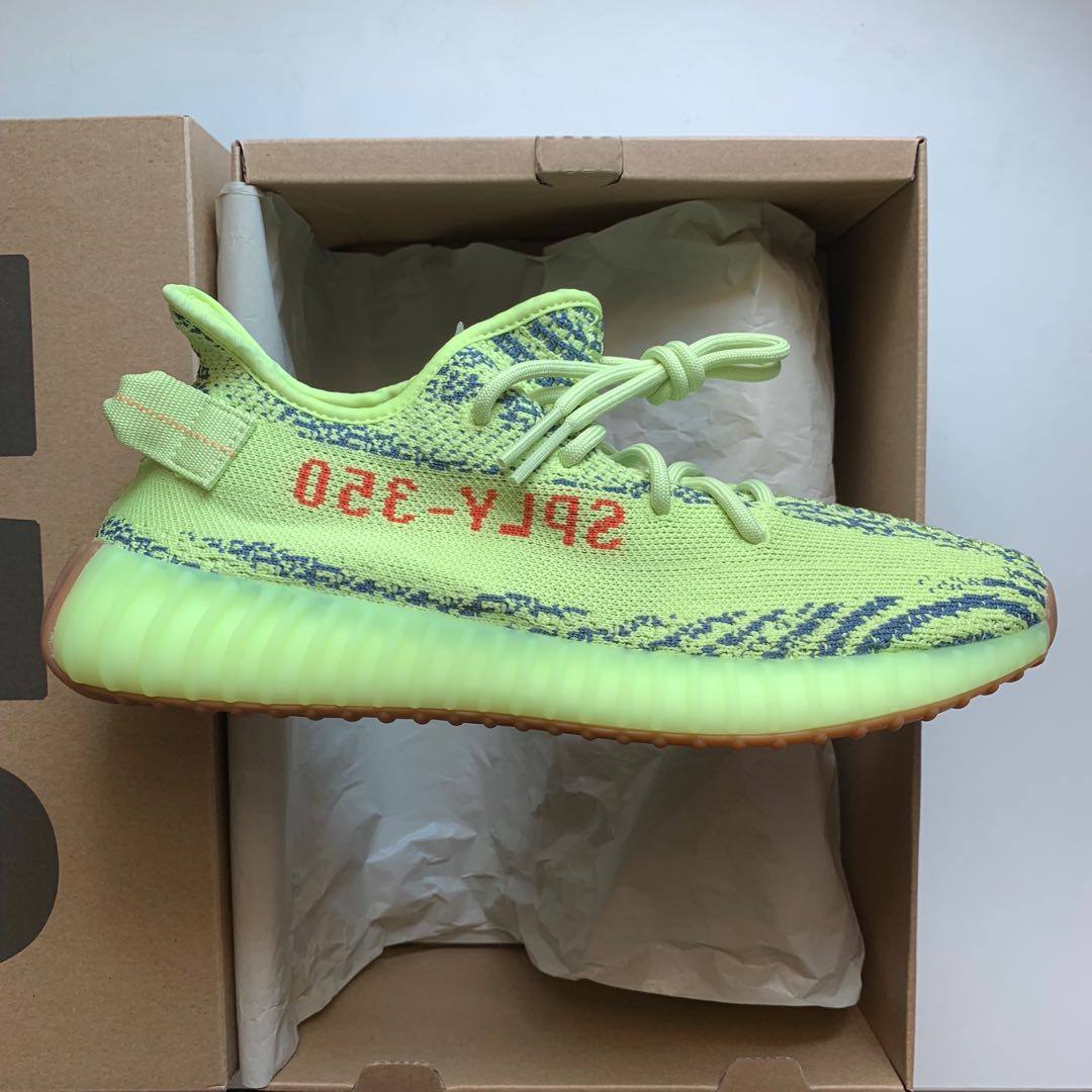 7c36efd1b165b UK9 YEEZY FROZEN YELLOW ZEBRA
