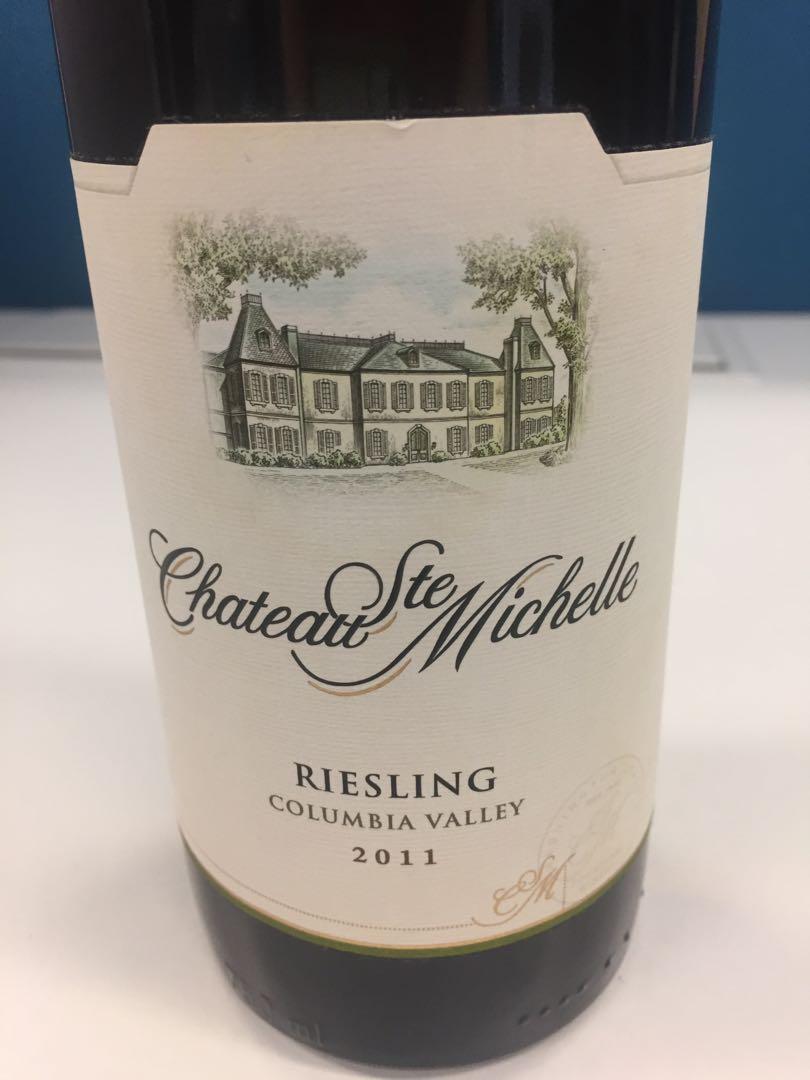 USA white wine - Riesling 2011