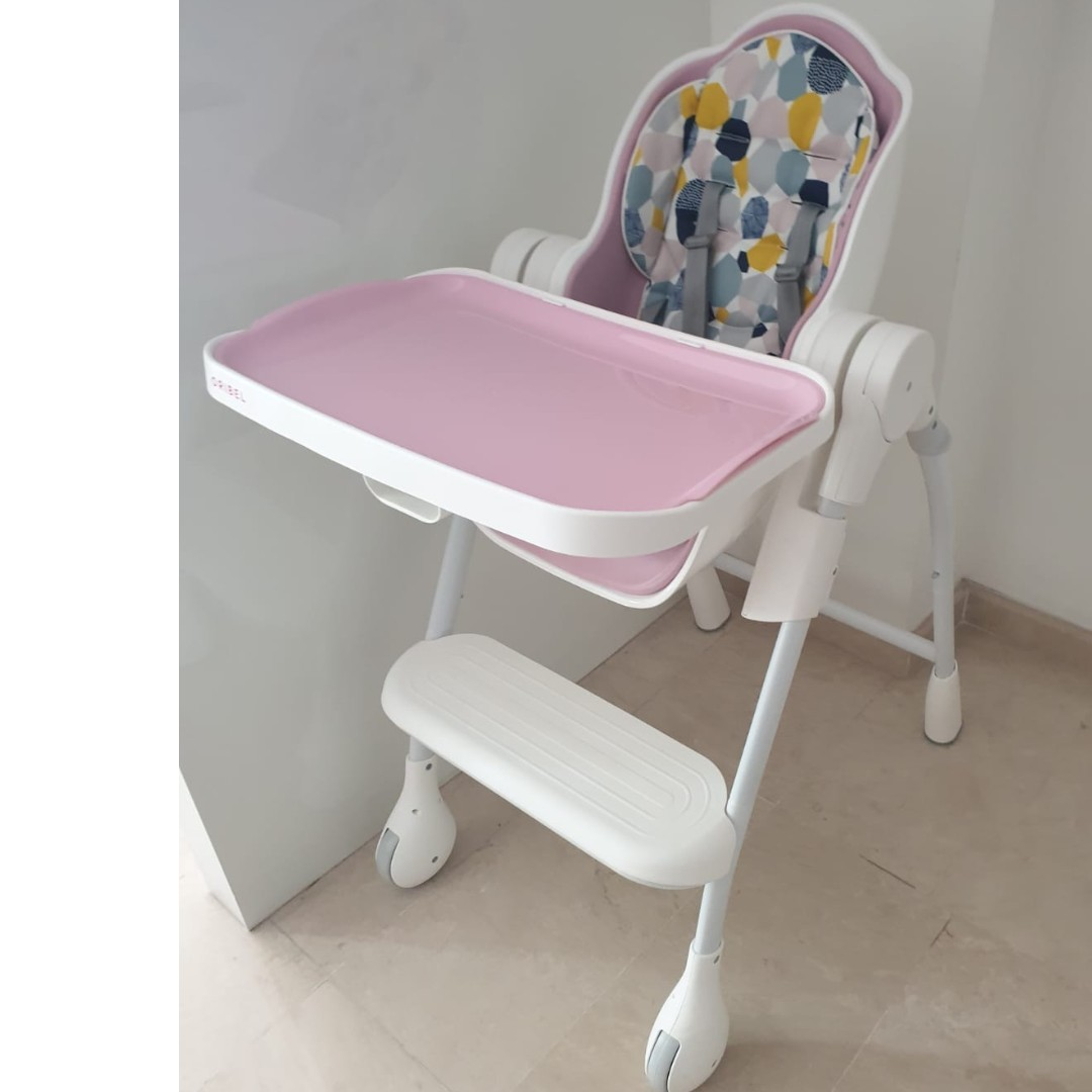 a8804972dca Used Pink Oribel Cocoon Baby high Chair. With seat liner