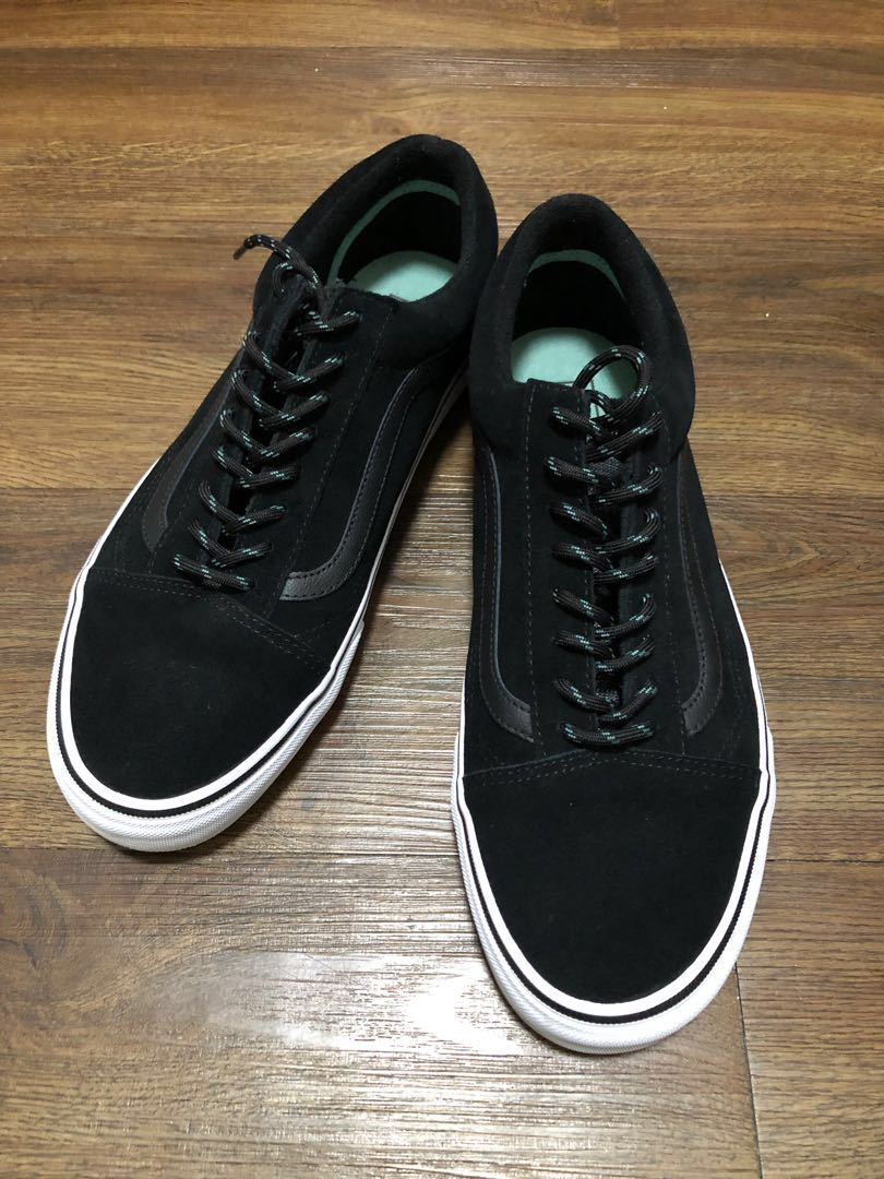 9d9b3555483 USED) Vans Old Skool Trek Black Wasabi Size US10
