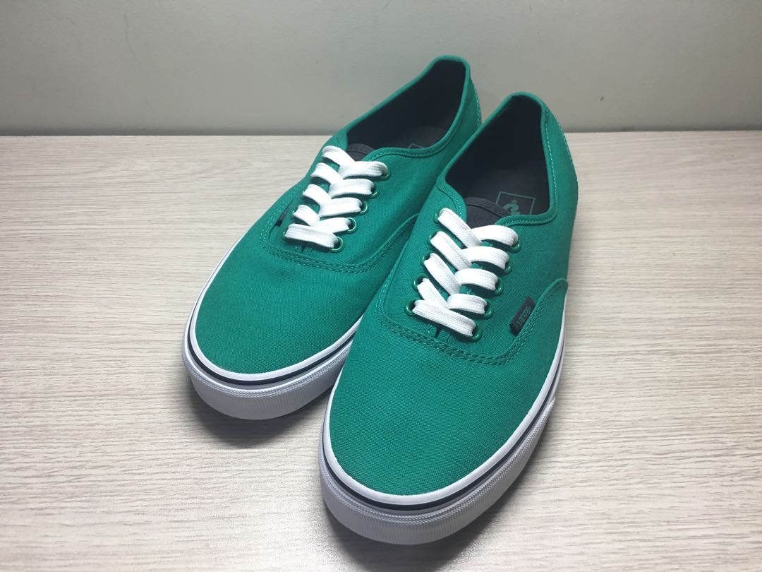 a06139a00a36d4 Vans Authentic (Canvas) Ultramarine Green Pirate Black