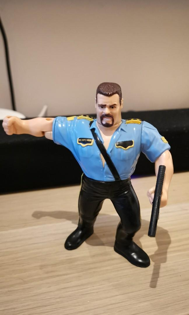 Hasbro Wwf Big Boss Man Series 3 Toys Games Bricks