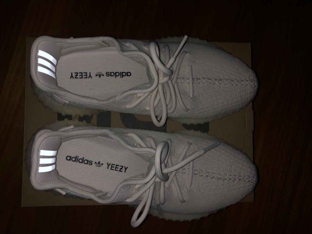 Yeezy Boost 350 V2 Triple White Size US 8.5
