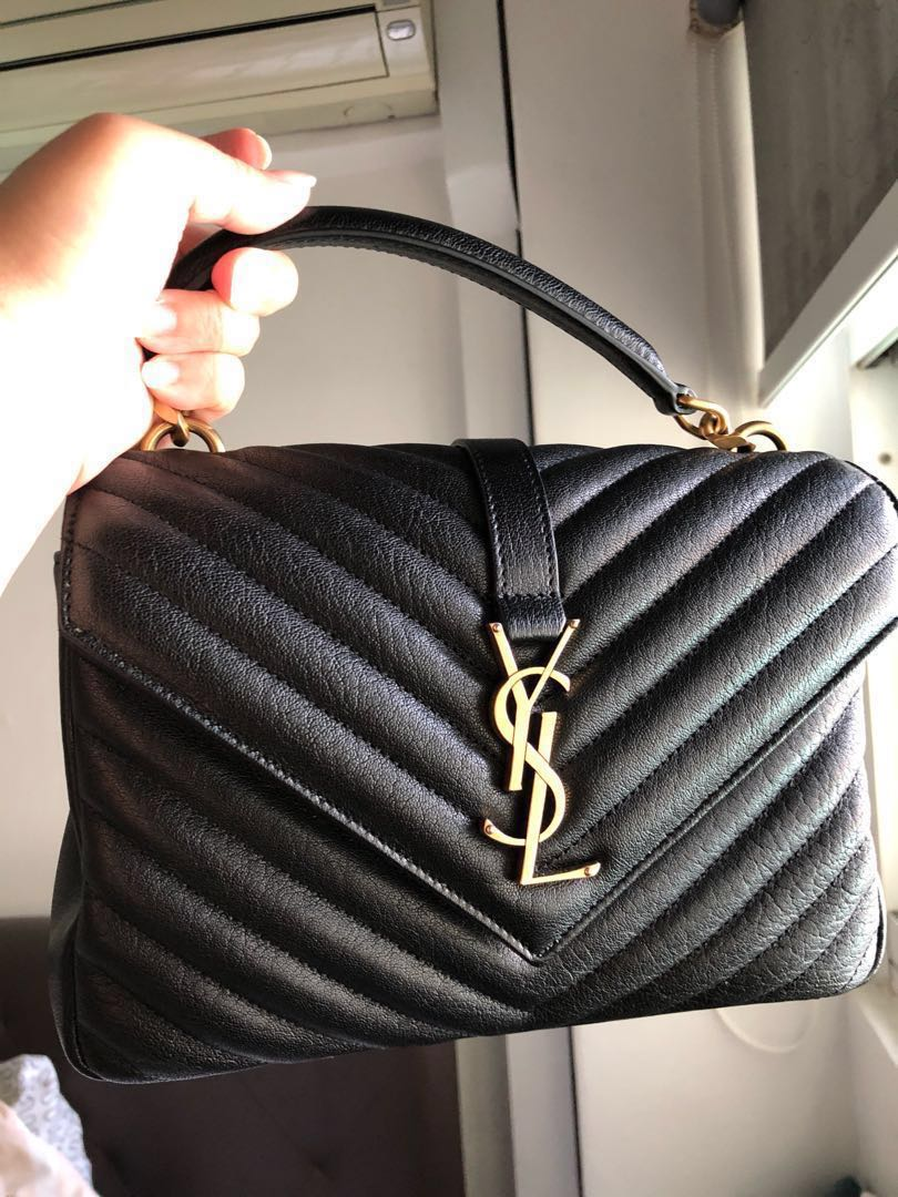 3c5c475eff52c YSL College Bag medium GHW