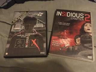 DVD Movies insidious insidious chapter 2 兒凶 兒凶2 dvd