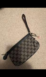Authentic Gucci Wristlet with Dust Bag