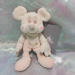 日本迪士尼白色米奇Disney Mickey