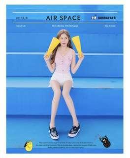 🚚 全新✨ Air space泡泡先生滿版印花內增高懶人休閒鞋