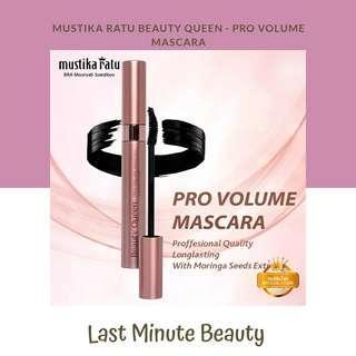 Mascara Waterproof Beauty Queen