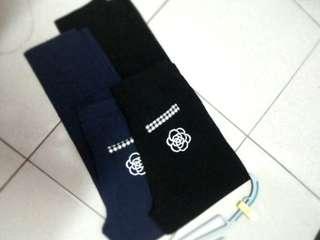🚚 黑XL#山茶花格紋褲