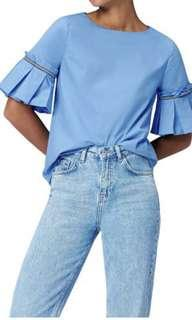 Find Frill Sleeves Shirt