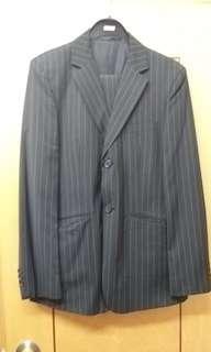 男士西裝套裝(深灰色)