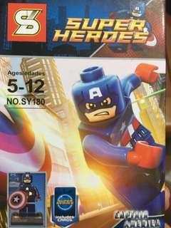 Captain America Building Block
