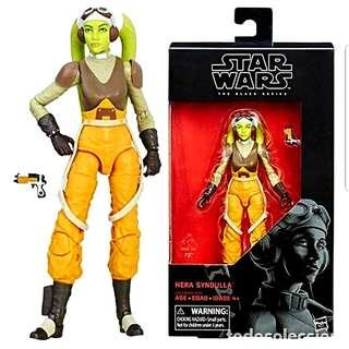 MISB Star Wars The Black Series Hera Syndulla #42 Action Figure