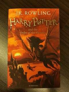 Harry Potter and the Order of the Phoenix, By J.K. Rowling