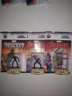 Jada nano metalfigs marvel bundle