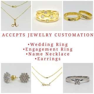 Customized Jewelries
