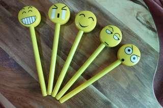 Emoji Pens (9pcs)