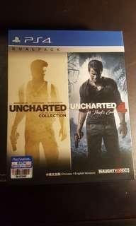 Uncharted dualpack (1,2,3&4)