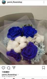 情人節保鲜花、棉花花束~可預先安排💐啦