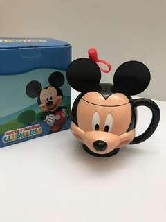 Mickey mouse 3d mug with straw