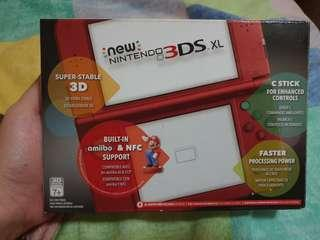 LIKE BN CONDITION 'NEW' NINTENDO 3DS XL [NEW RED]