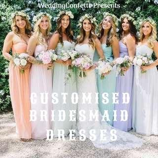 Customised Bridesmaid Dress