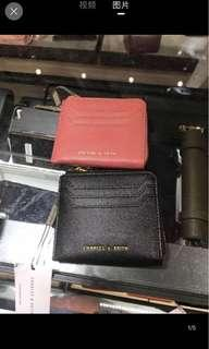 (PO) original charles and keith card holder coin purse