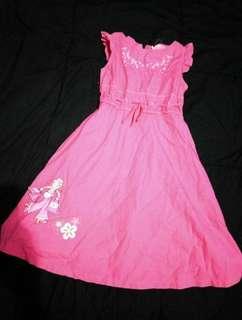 #bersihbersih dress pink